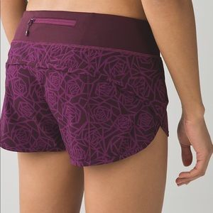 Lululemon Speed Shorts